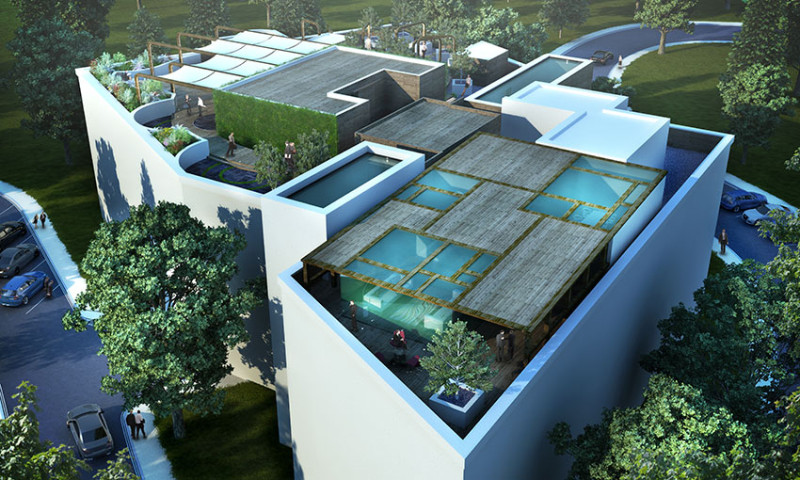 Rooftop garden international design group for Garden design channel 4