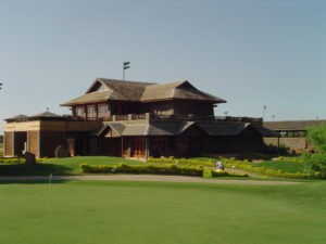 Academy and green clubhouse