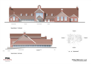 Elevation Plan 1 clubhouse